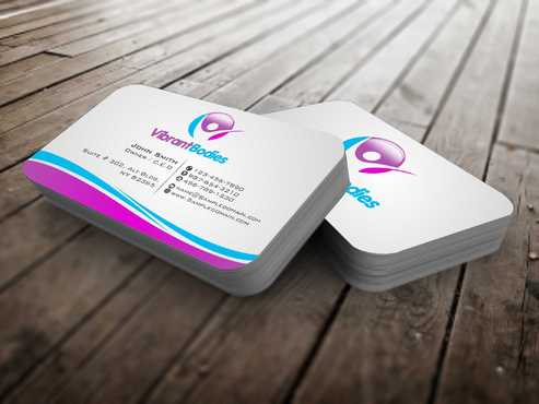Vibrant Bodies Business Cards and Stationery  Draft # 247 by Dawson