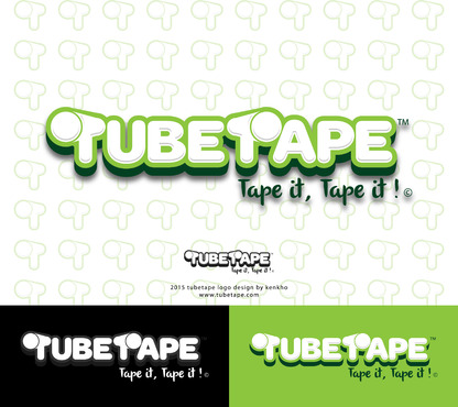 Tube Tape A Logo, Monogram, or Icon  Draft # 48 by kenthoughtthat