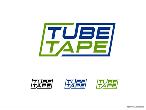 Tube Tape A Logo, Monogram, or Icon  Draft # 58 by alocelja