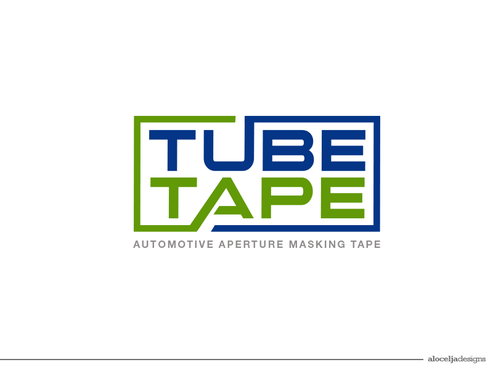 Tube Tape A Logo, Monogram, or Icon  Draft # 60 by alocelja
