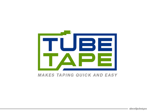 Tube Tape A Logo, Monogram, or Icon  Draft # 78 by alocelja