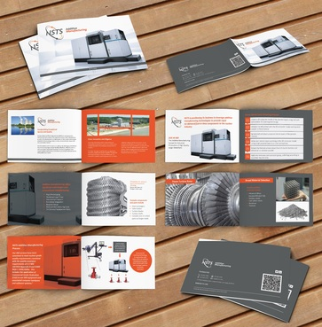 Manufacturing-Related Marketing Booklet or Brochure