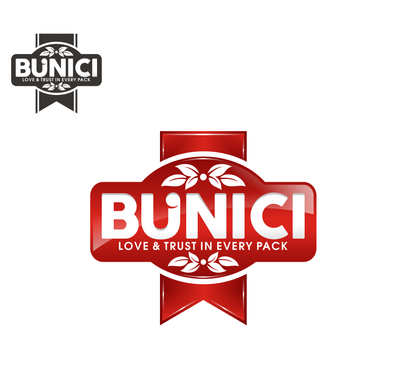 Name (BUNICI) and logo. You decide if the tagline is fitting.