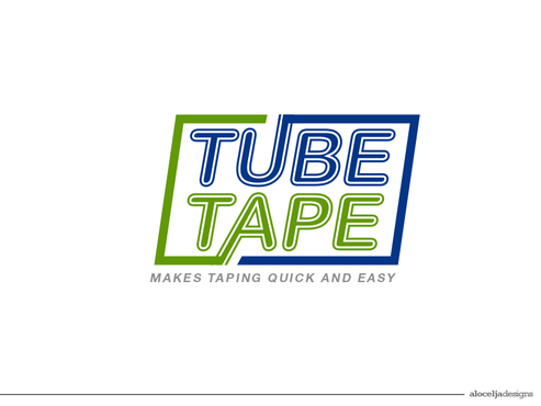 Tube Tape A Logo, Monogram, or Icon  Draft # 241 by alocelja