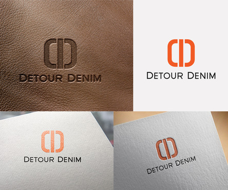 Detour Denim Logo Winning Design by sameerqazi1