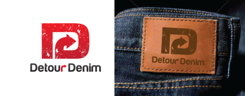 Detour Denim A Logo, Monogram, or Icon  Draft # 518 by anijams