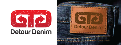 Detour Denim A Logo, Monogram, or Icon  Draft # 536 by anijams