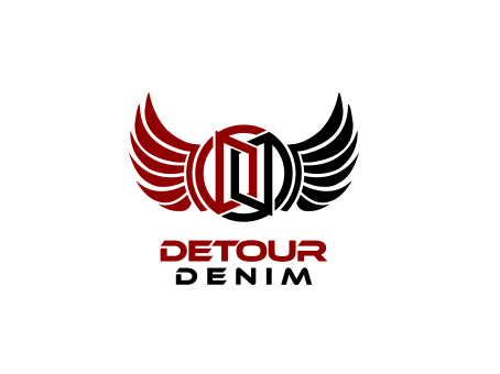 Detour Denim A Logo, Monogram, or Icon  Draft # 546 by falconisty