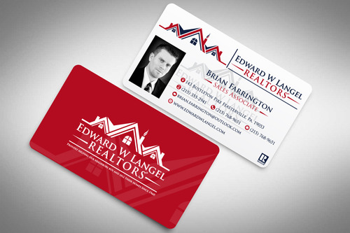 Business Card Business Cards and Stationery  Draft # 119 by rasix