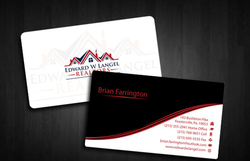 Business Card Business Cards and Stationery  Draft # 124 by Tayyabadesigner
