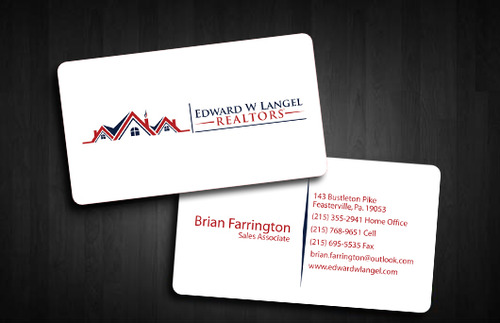 Business Card Business Cards and Stationery  Draft # 126 by Tayyabadesigner