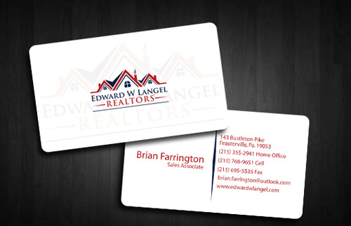 Business Card Business Cards and Stationery  Draft # 127 by Tayyabadesigner
