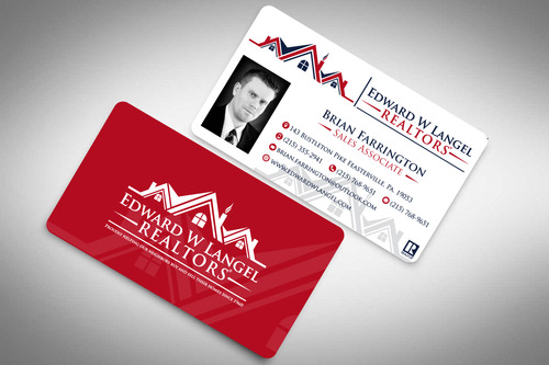Business Card Business Cards and Stationery  Draft # 131 by rasix