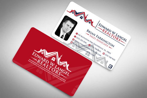Business Card Business Cards and Stationery  Draft # 133 by rasix