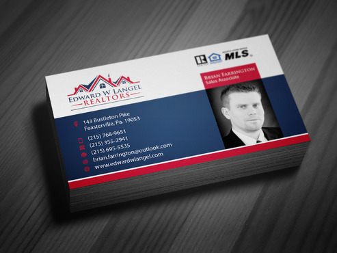 Business Card Business Cards and Stationery  Draft # 142 by jameelbukhari