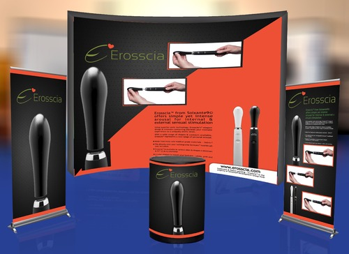 Industry trade show booth graphics  Marketing collateral  Draft # 17 by Tjcdesign