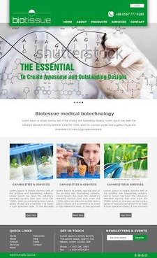 BioTissue  Complete Web Design Solution  Draft # 59 by Chimpdevs