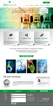 BioTissue  Complete Web Design Solution  Draft # 60 by Chimpdevs