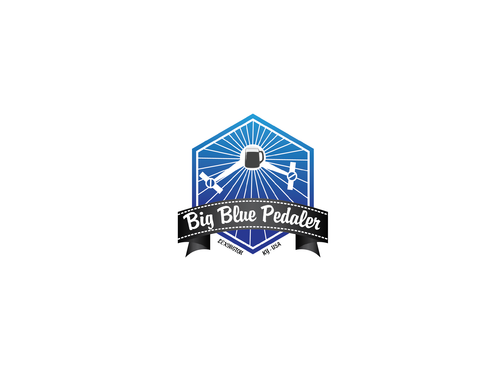 Big Blue Pedaler A Logo, Monogram, or Icon  Draft # 3 by Rajeshpk