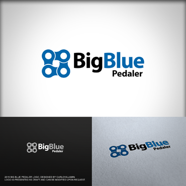 Big Blue Pedaler A Logo, Monogram, or Icon  Draft # 43 by carlovillamin