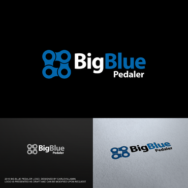 Big Blue Pedaler A Logo, Monogram, or Icon  Draft # 44 by carlovillamin