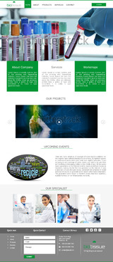 BioTissue  Complete Web Design Solution  Draft # 67 by Chimpdevs