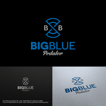 Big Blue Pedaler A Logo, Monogram, or Icon  Draft # 59 by carlovillamin