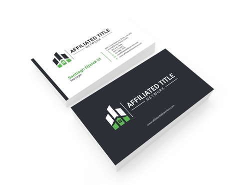 ATS Stationery Business Cards and Stationery  Draft # 244 by gozen