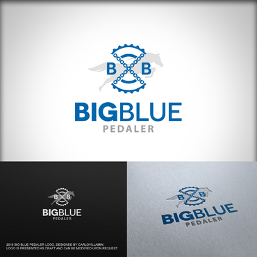Big Blue Pedaler A Logo, Monogram, or Icon  Draft # 70 by carlovillamin