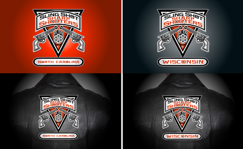 Sling Shot Sharp Shooters Logo Winning Design by rooster