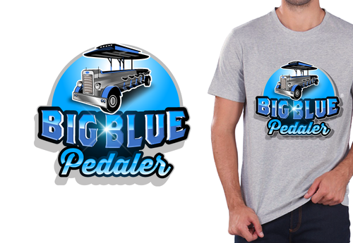 Big Blue Pedaler A Logo, Monogram, or Icon  Draft # 100 by rooster
