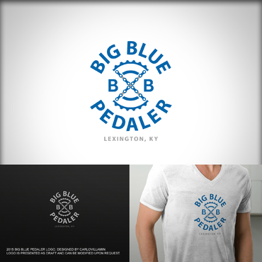 Big Blue Pedaler A Logo, Monogram, or Icon  Draft # 106 by carlovillamin