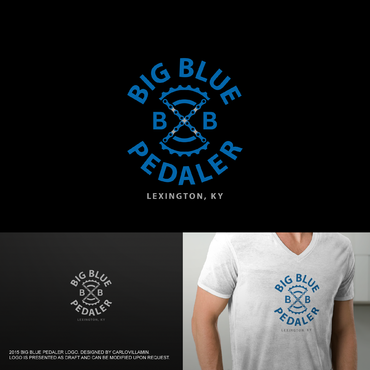 Big Blue Pedaler A Logo, Monogram, or Icon  Draft # 107 by carlovillamin