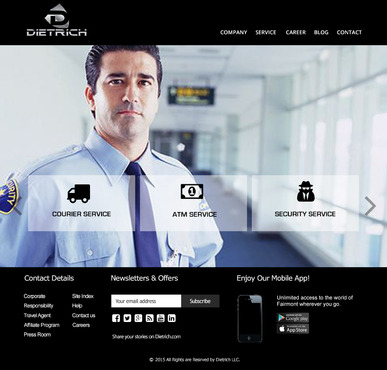 DIETRICH Complete Web Design Solution  Draft # 97 by Chimpdevs