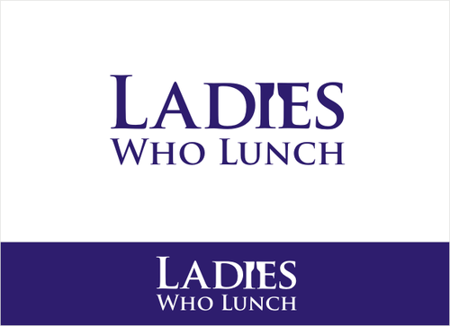Ladies Who Lunch A Logo, Monogram, or Icon  Draft # 149 by dhira