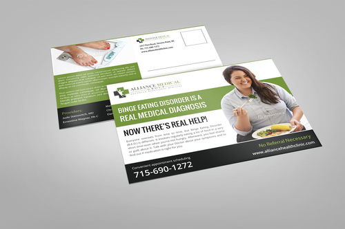 Alliance Medical Group Marketing collateral Winning Design by pivotal