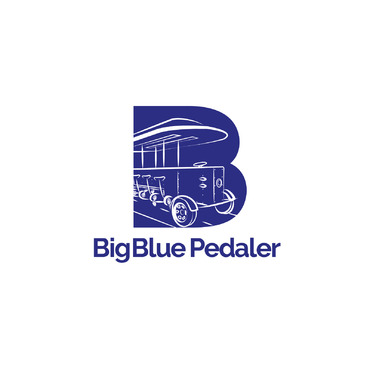 Big Blue Pedaler A Logo, Monogram, or Icon  Draft # 136 by Abdul700
