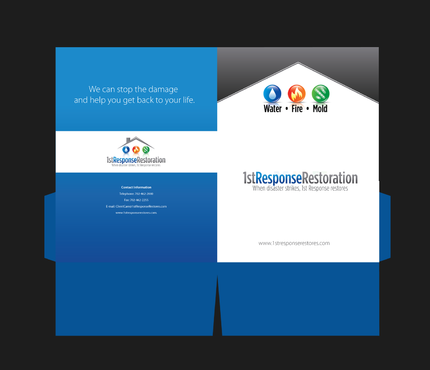 Water, Fire, and Mold Restoration Services Marketing collateral  Draft # 4 by pivotal