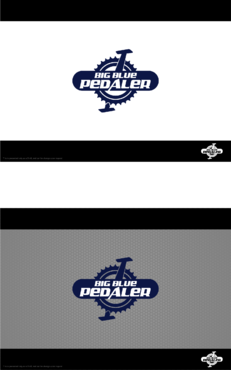 Big Blue Pedaler A Logo, Monogram, or Icon  Draft # 141 by Hernan2015