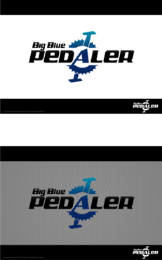 Big Blue Pedaler A Logo, Monogram, or Icon  Draft # 142 by Hernan2015
