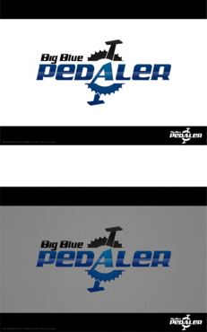Big Blue Pedaler A Logo, Monogram, or Icon  Draft # 143 by Hernan2015