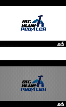Big Blue Pedaler A Logo, Monogram, or Icon  Draft # 144 by Hernan2015