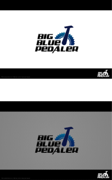 Big Blue Pedaler A Logo, Monogram, or Icon  Draft # 145 by Hernan2015
