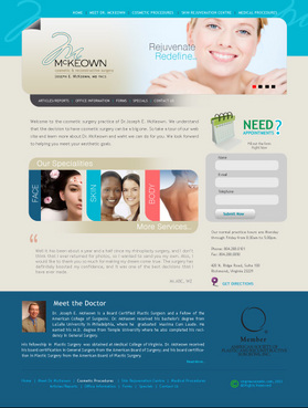 Home Page Web Design  Draft # 3 by macroads