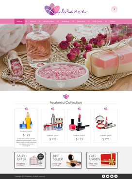 Ambiance Complete Web Design Solution  Draft # 34 by jogdesigner