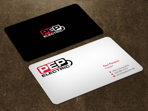 PEP Electric LLC Business Cards and Stationery  Draft # 2 by Xpert