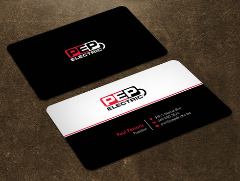 PEP Electric LLC Business Cards and Stationery  Draft # 5 by Xpert