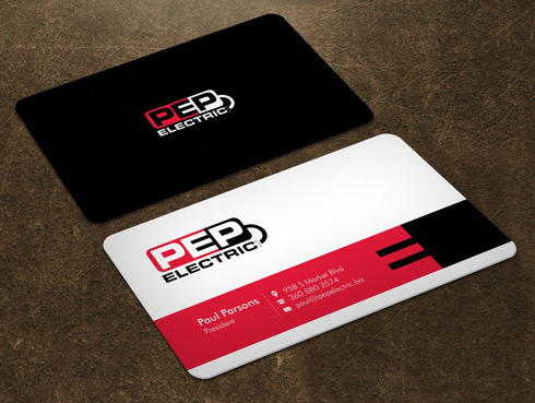 PEP Electric LLC Business Cards and Stationery  Draft # 8 by Xpert
