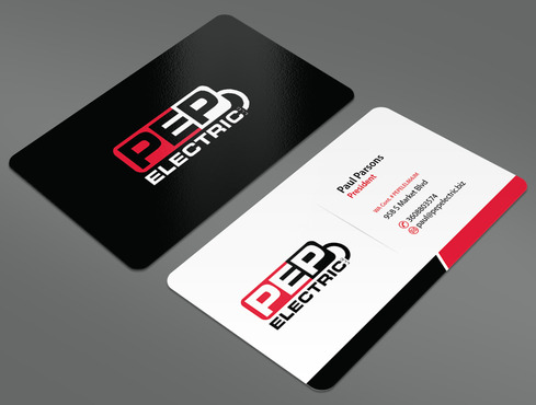 PEP Electric LLC Business Cards and Stationery  Draft # 17 by ArtworksKingdom