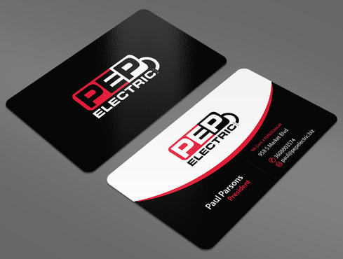 PEP Electric LLC Business Cards and Stationery  Draft # 27 by ArtworksKingdom